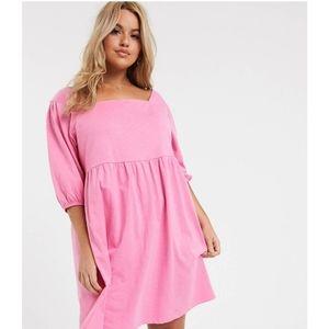 Asos Smock Dress in Pink